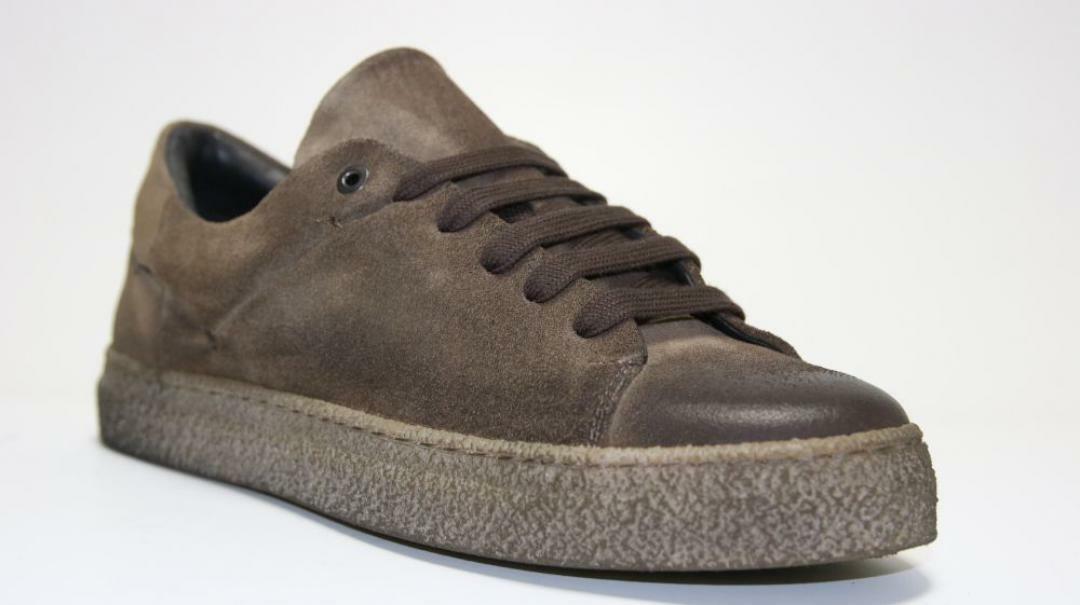 sergio cippitelli sergio cippitelli sneakers bassa uomo 70 ex marrone