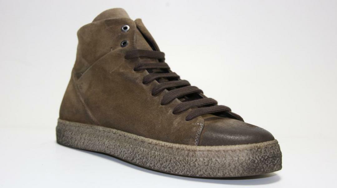 sergio cippitelli sergio cippitelli sneakers alta uomo 71 ex marrone