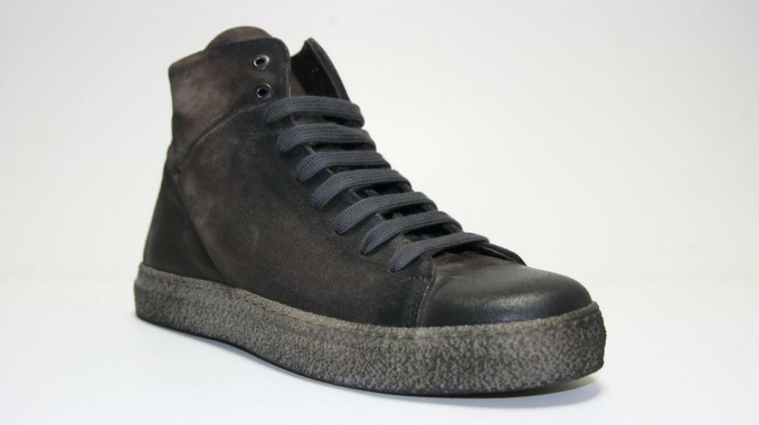 sergio cippitelli sneakers alta uomo 71 ex grigio