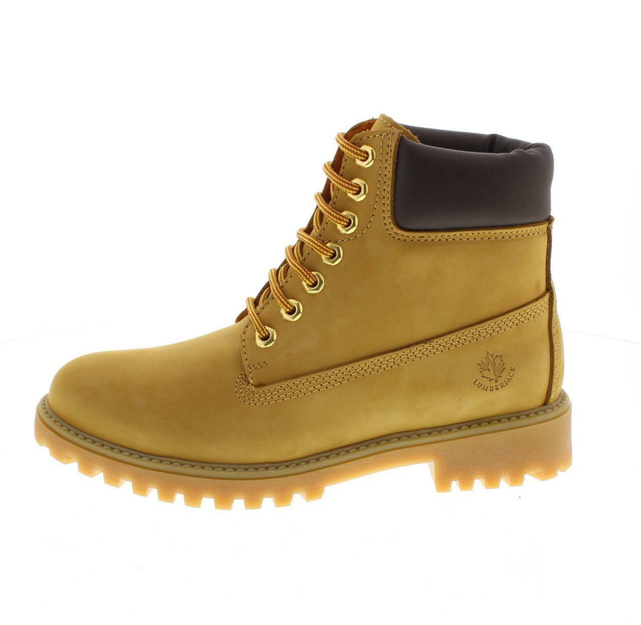 lumberjack scarponcino uomo sm00101-023 d01 giallo
