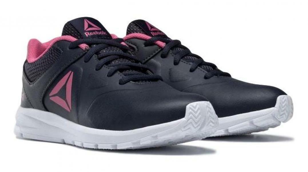 reebok reebok rush runner bambina dv8698 blu/rosa