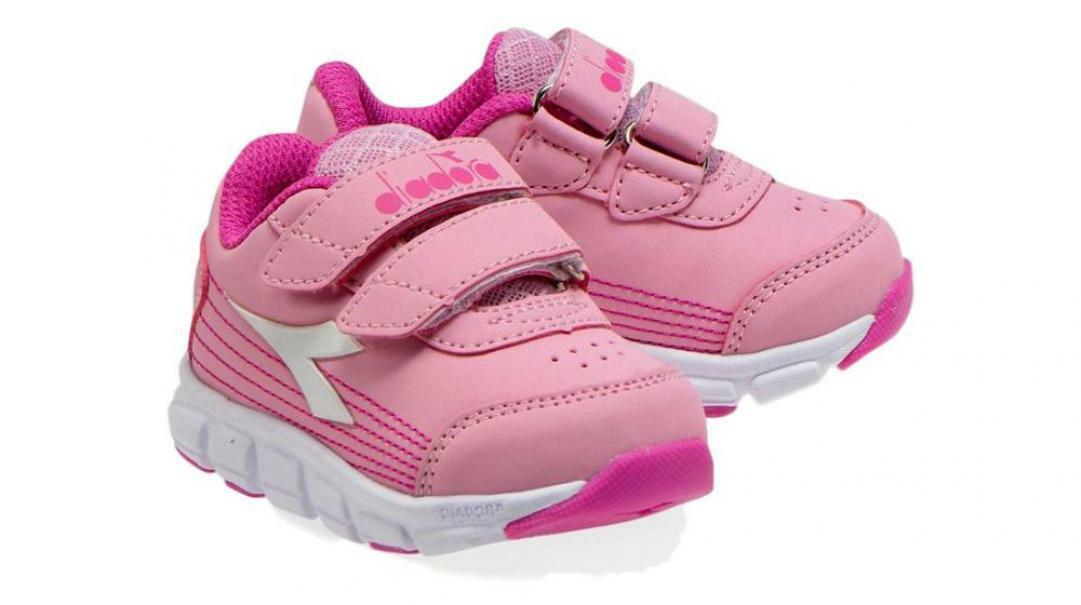 diadora diadora flamingo 4 sl i bambina running 174883 rosa