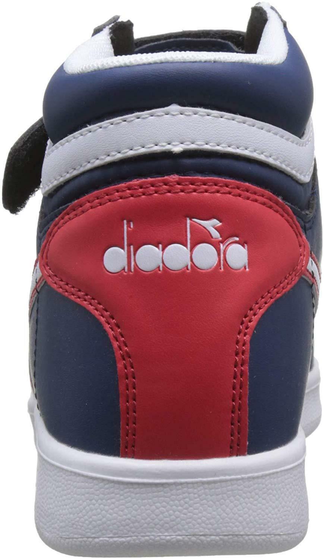 diadora diadora game p high ps bambino 173763 blu