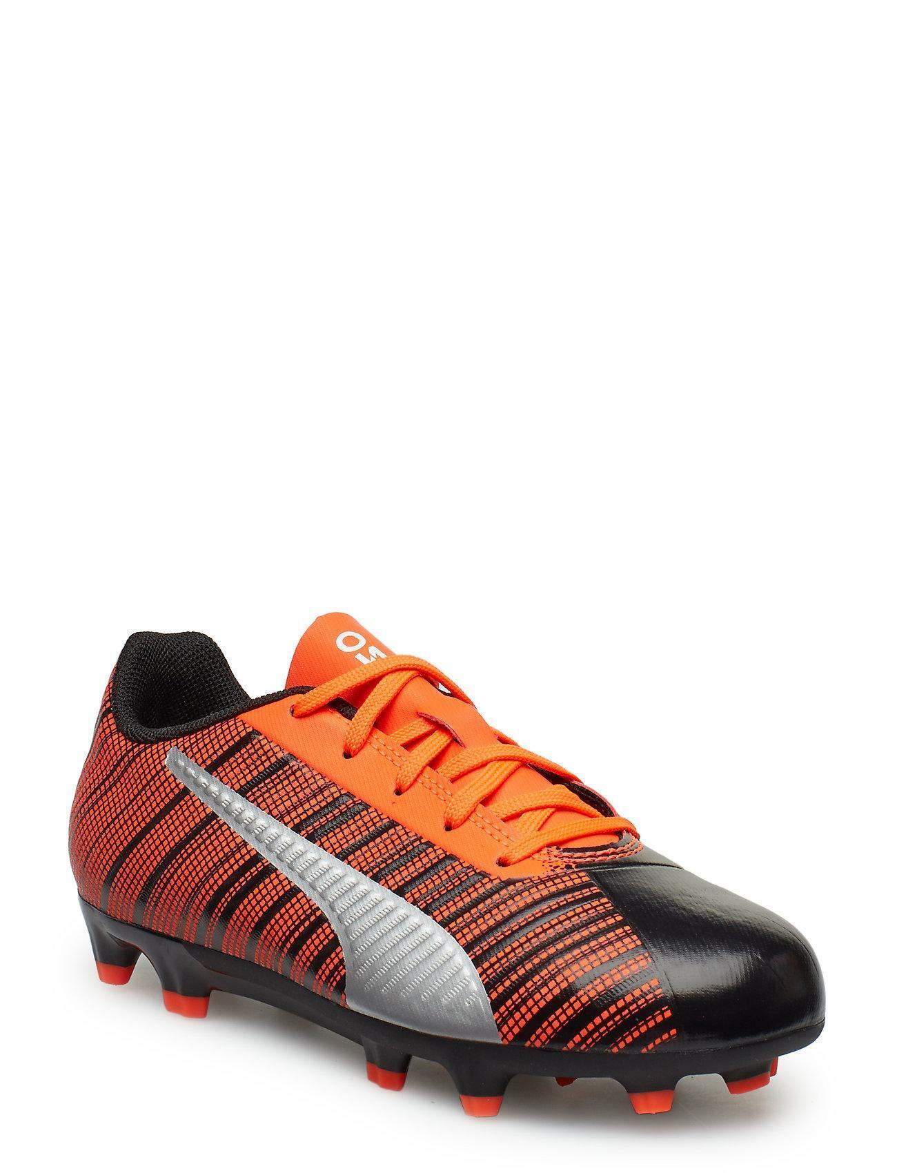 puma puma one 5.4 fg/ag scarpe calcio  105605 001 arancio