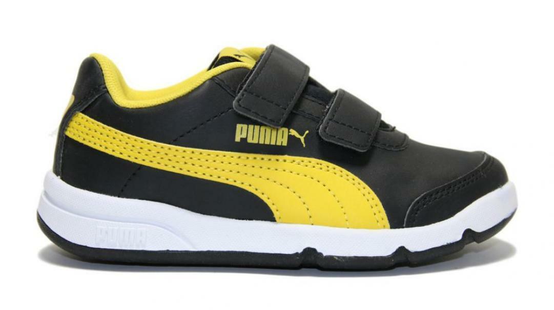 puma puma stepfleex 2 sl ve v  192522 008 scarpe da sport bambino nero