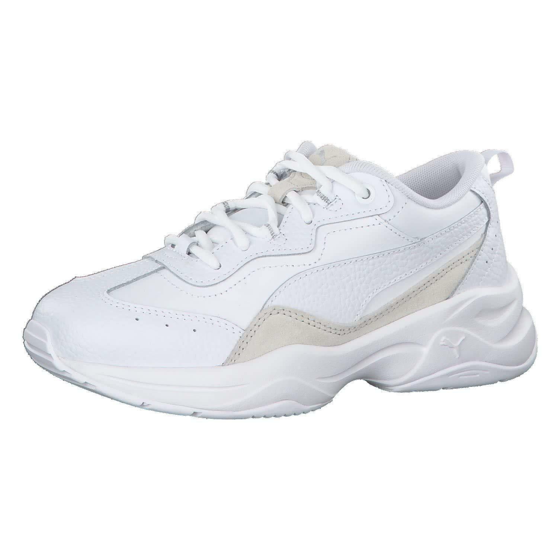 puma puma cilia lux donna sneaker 370282 005 bianca