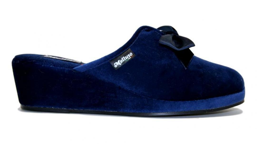 melluso melluso pantofole donna  pd106f blu