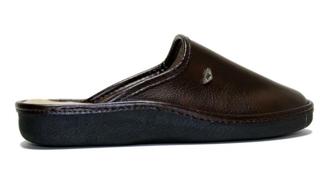 melluso melluso pantofole uomo  pu150f marrone