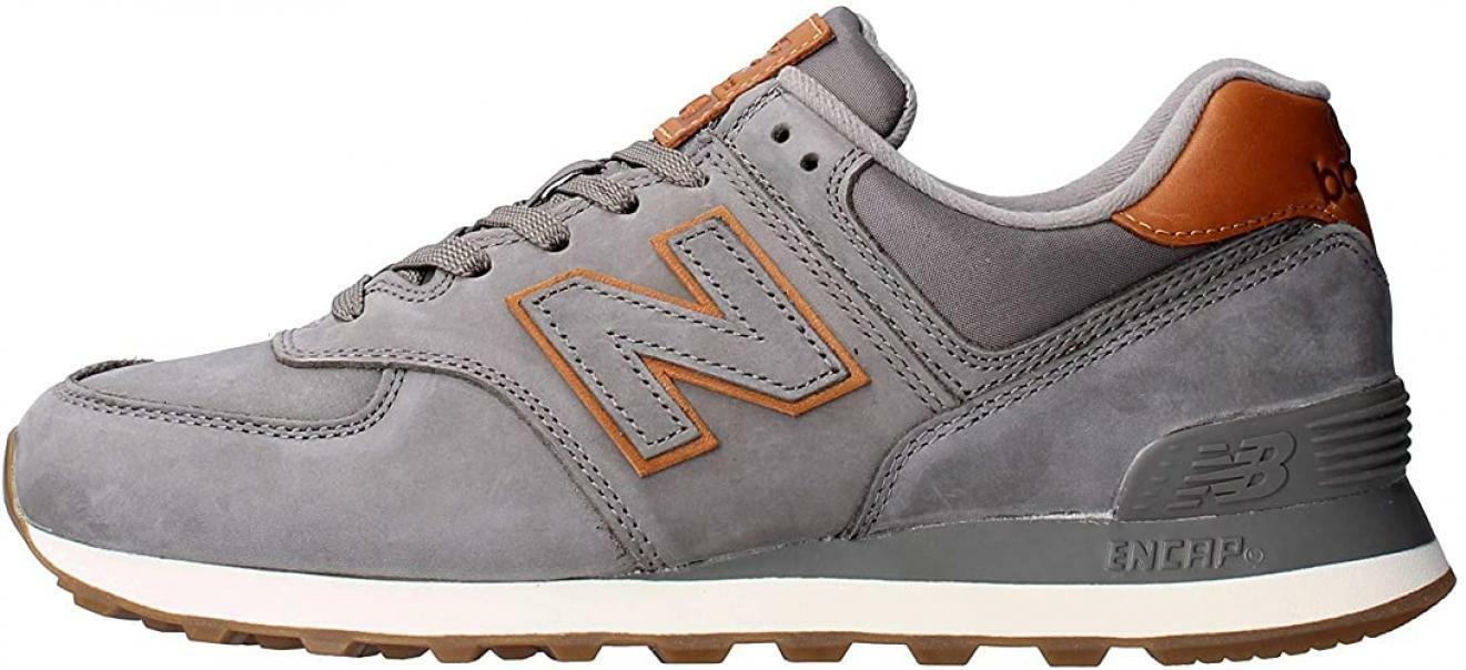 new balance new balance sportivo uomo ml574nba grigio scarpe sportive uomo