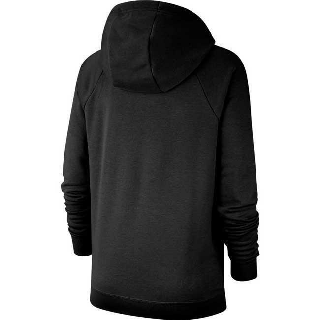 nike nike felpa bv4126 010 nero hoodie donna