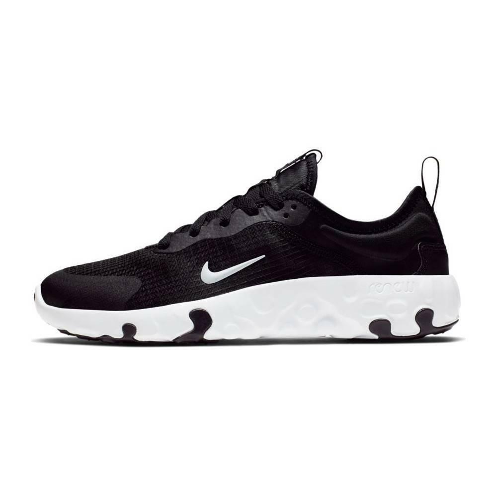 nike nike renew lucent (gs) bambina cd6906 001 nero