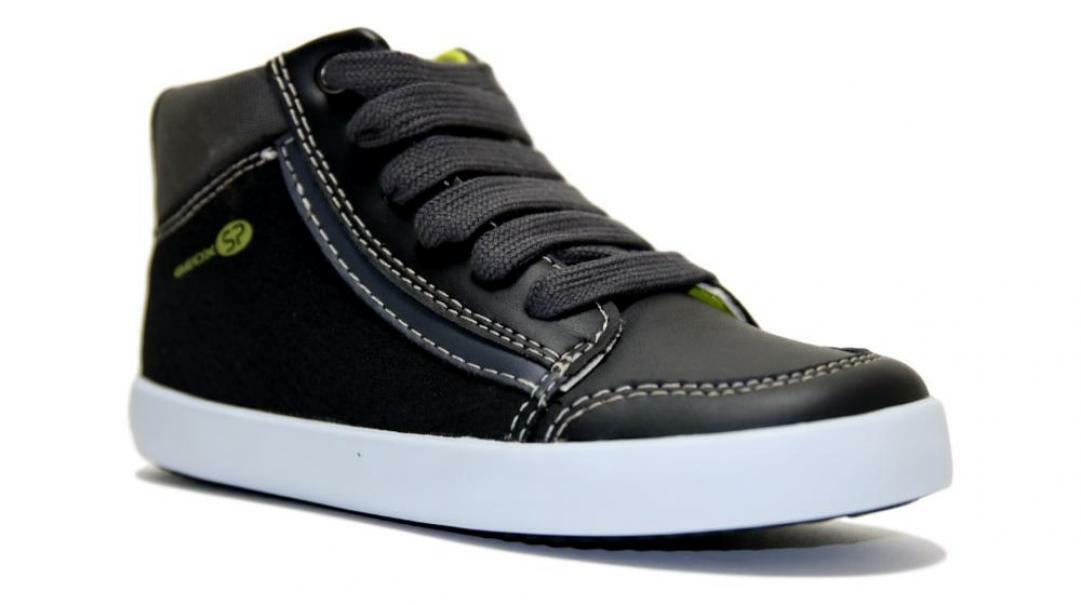 geox geox sneakers bambino b941nc 054au c0802 nero giallo