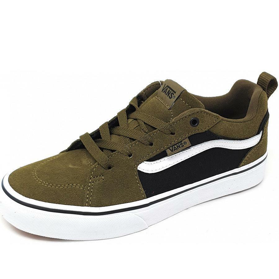 vans vans sneakers bambino vn0a3mvpuzh1 verde militare