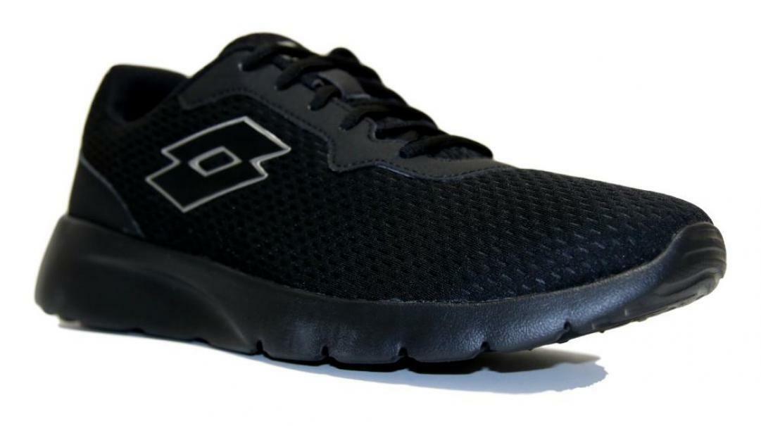 lotto lotto megalight iv sneaker uomo 212118 nero