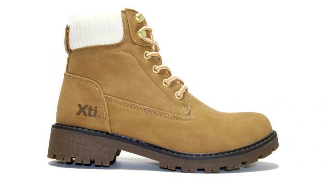 xti xti scarponcino donna 49513 giallo