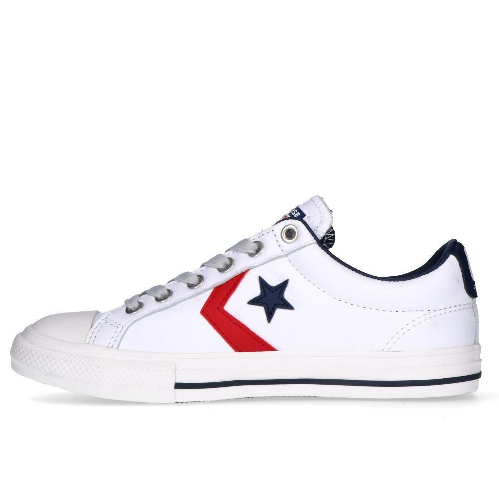 converse converse sneakers bambino star player ev ox 666393c  bianca rossa