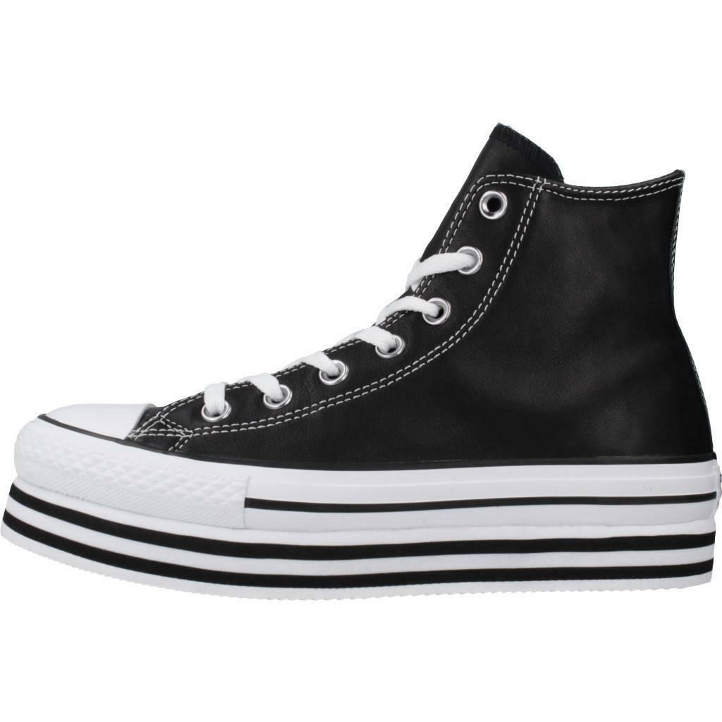converse converse sneakers zeppa i-ct p.layer hi donna 565826c nero