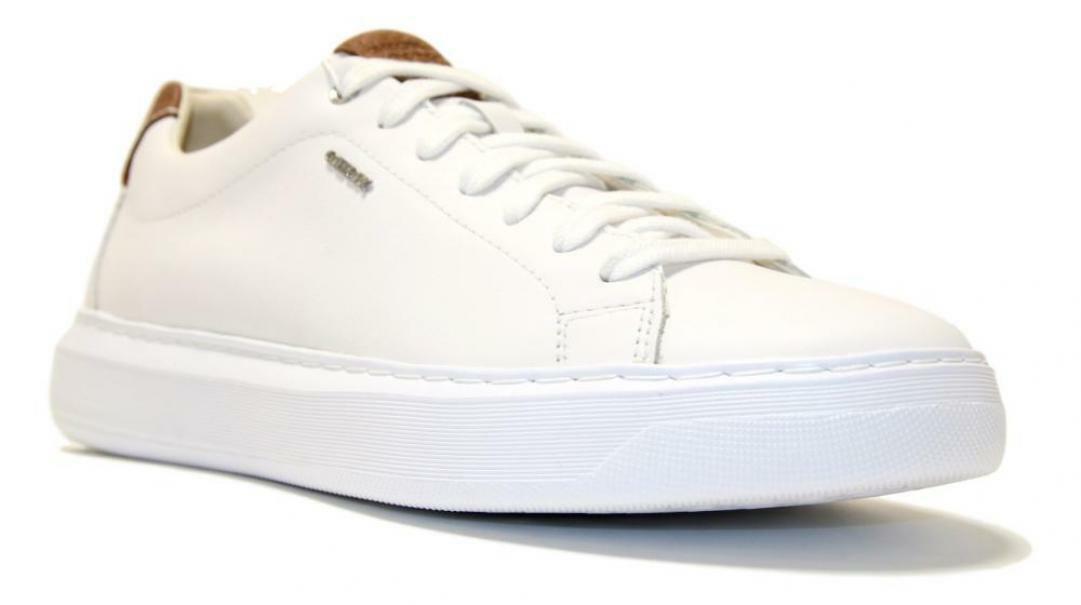 geox geox sneakers uomo u845wb 00085 c1000 bianco
