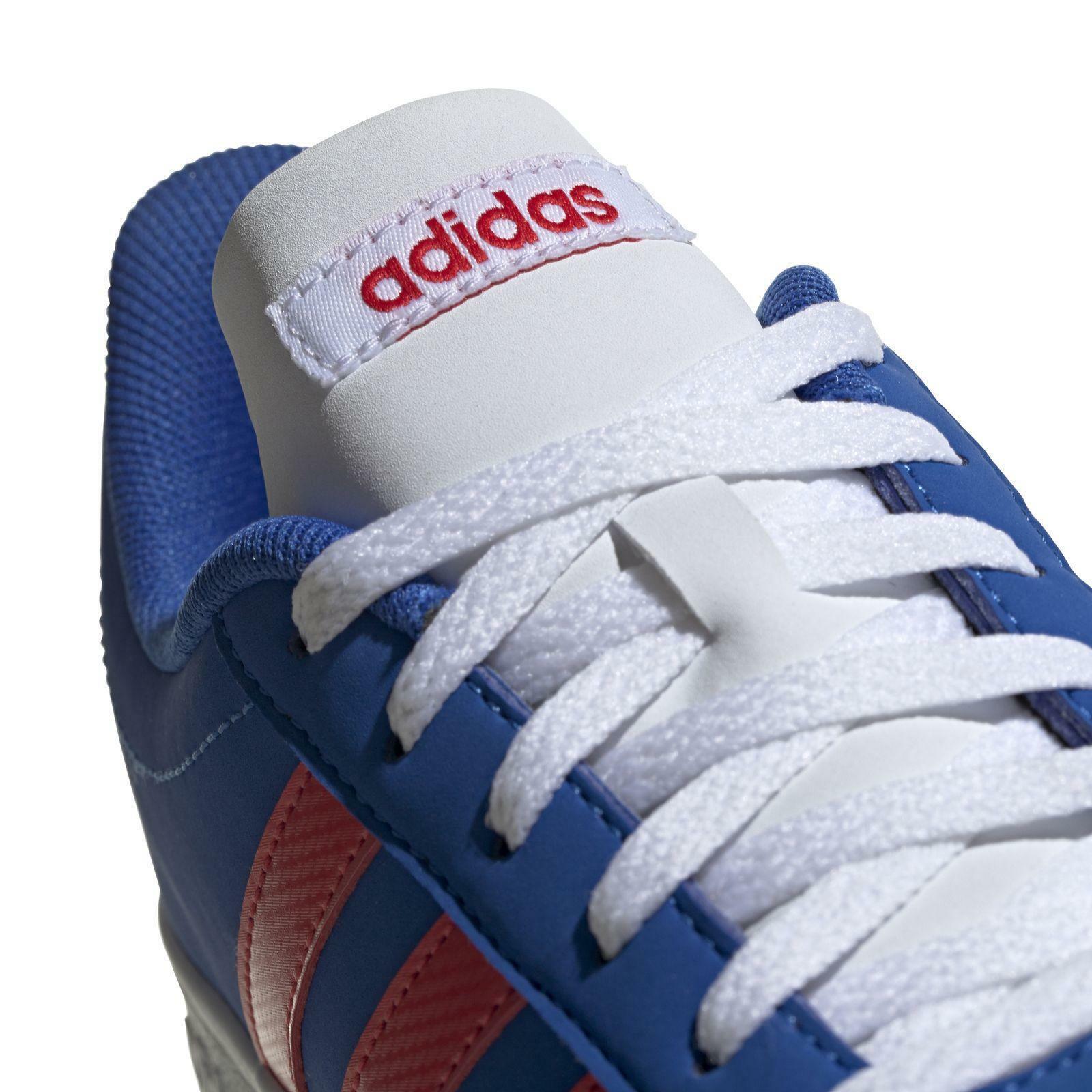 adidas adidas vl court 2.0 k bambino ee6902 blu sneakers bambino