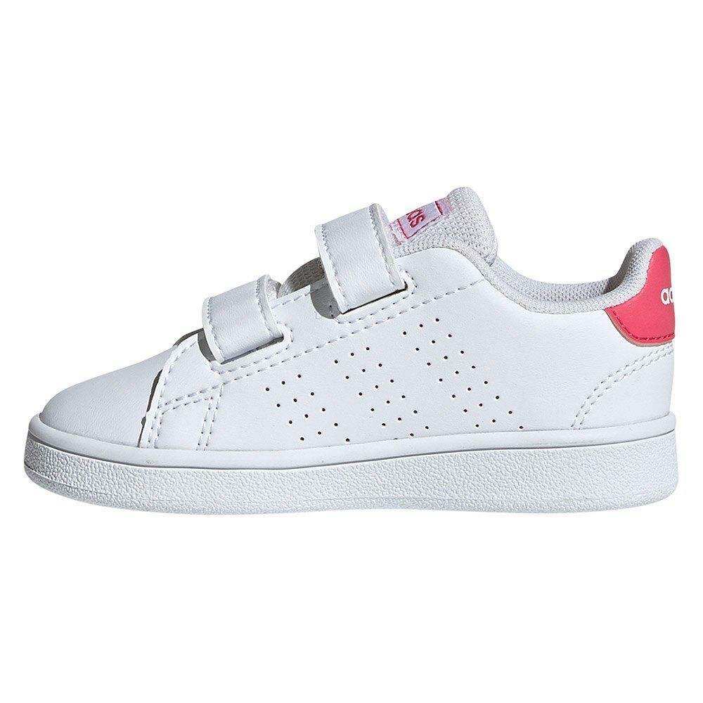 adidas adidas advantage i bambina ef0300 bianca rosa