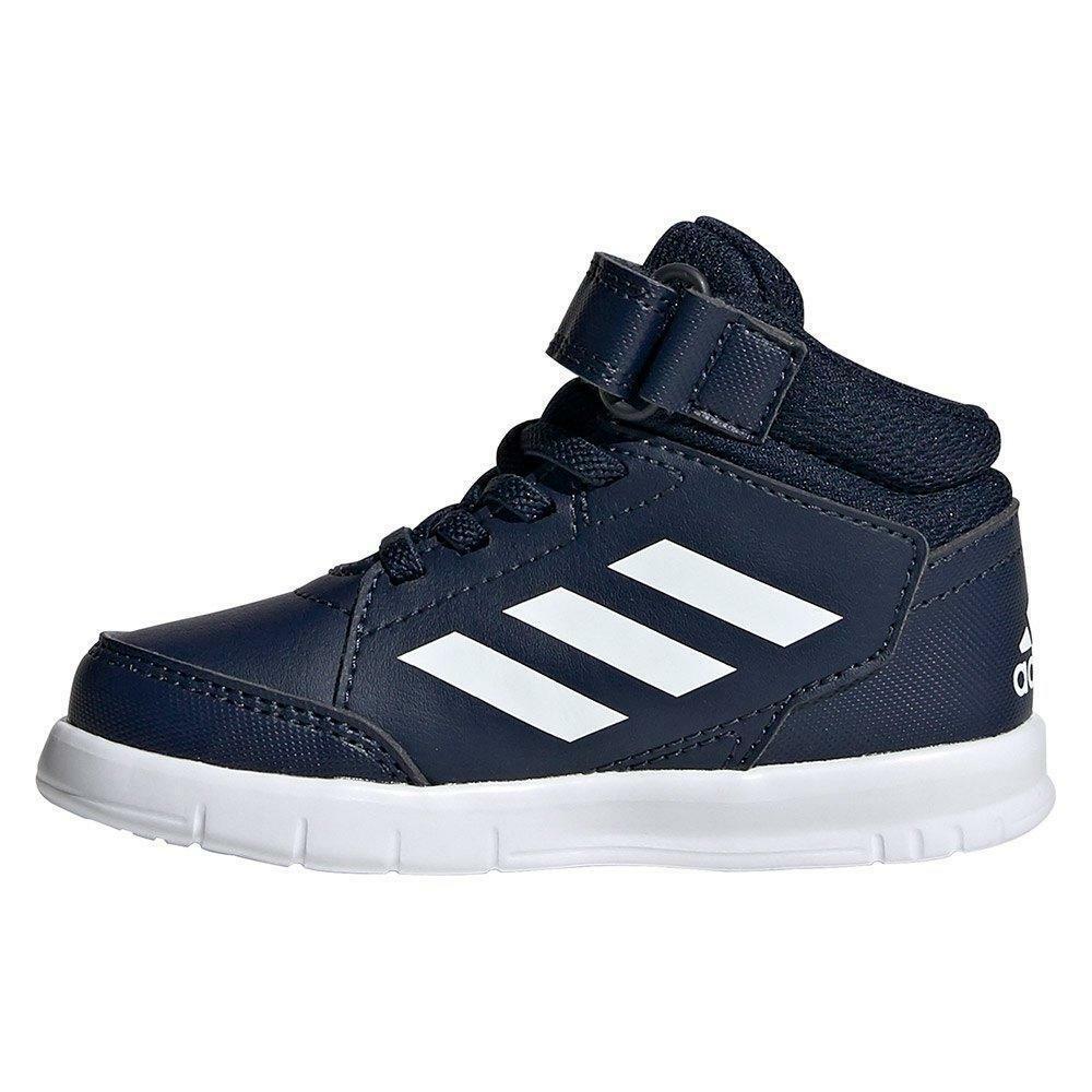 adidas adidas altasport mid i sneaker bambino eg3800 blu