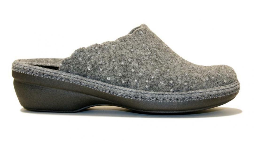 melluso melluso pantofole donna pd306f grigio