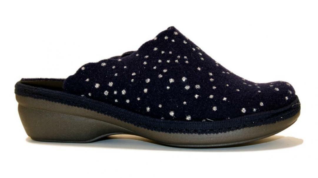 melluso melluso pantofole donna pd306f blu
