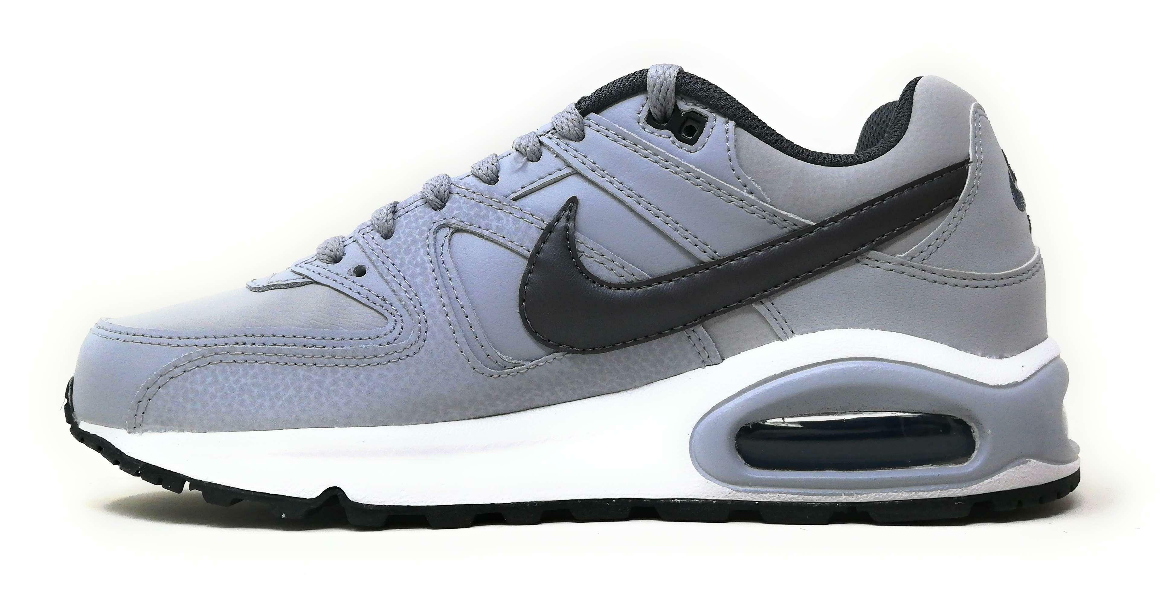nike air max command leather nike 749760 012 grigio