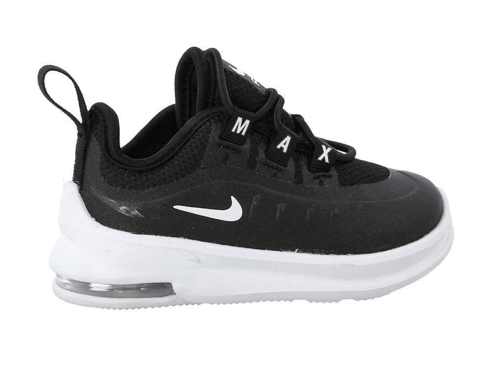 nike nike air max axis (td) sneaker bambino ah5224 001 nero