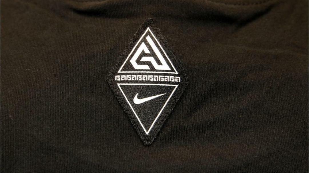 nike nike t-shirt uomo bv8265 010 nero