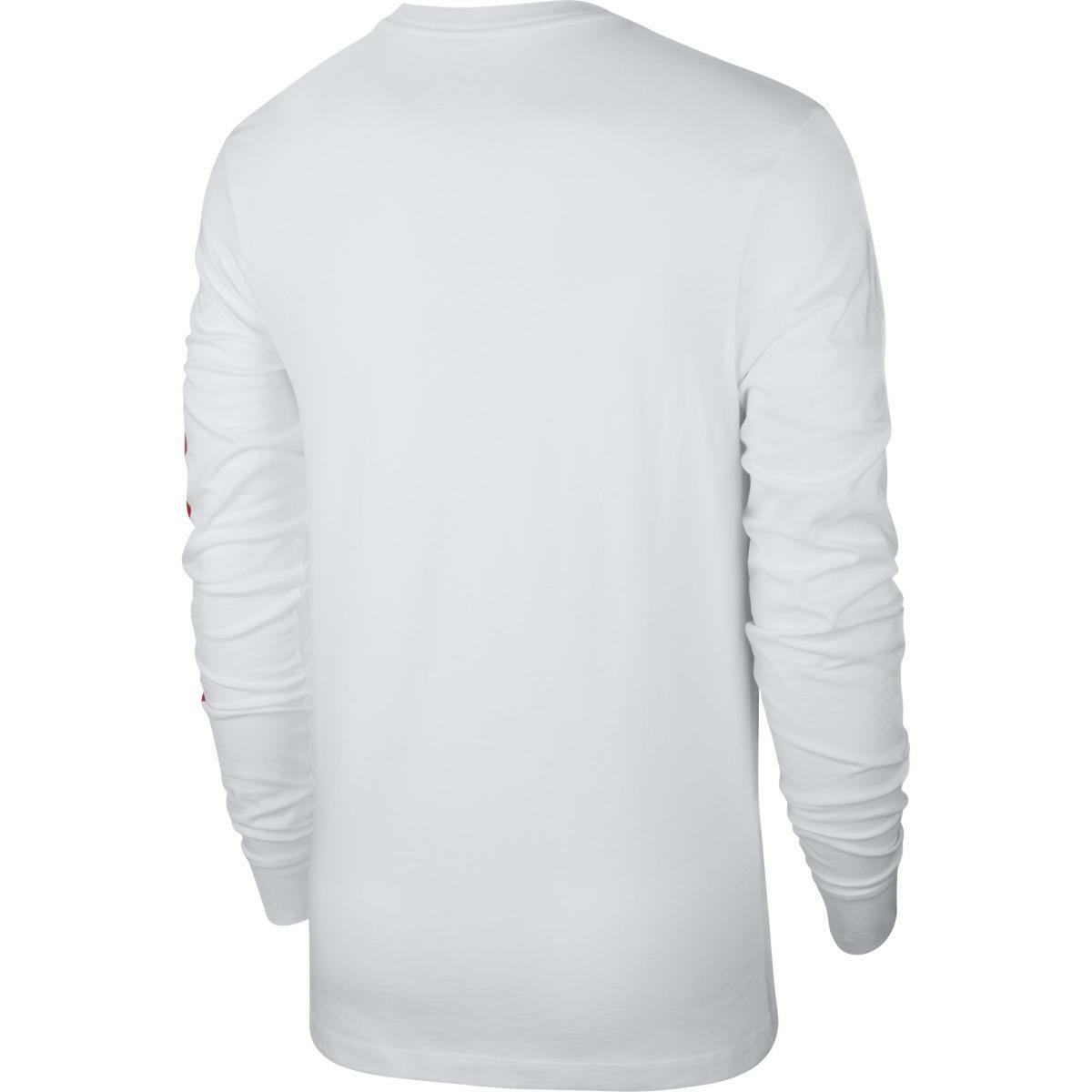 nike t-shirt uomo nike cd9598 100 bianco
