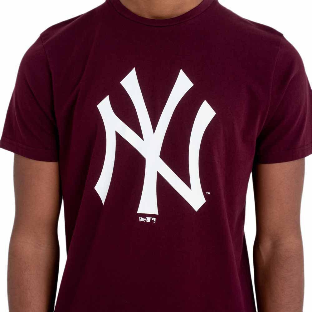 new era new era team logo tee neyyan t-shirt uomo 11863695 bordeaux