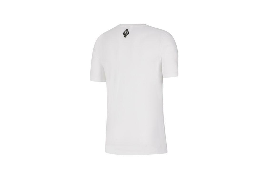 nike nike t-shirt uomo bv8265 100 bianco