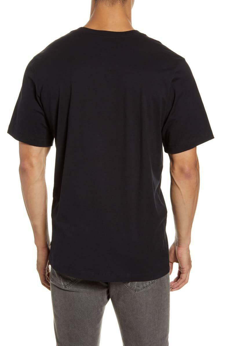 nike nike t-shirt uomo cj0444 010 nero