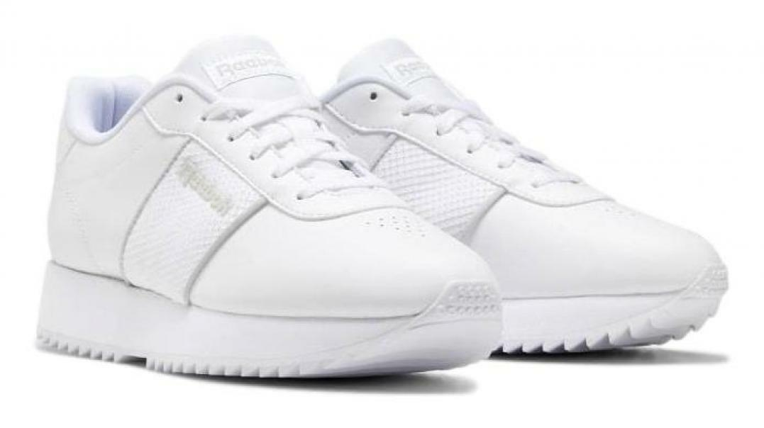 reebok reebok  royal charm donna ef7988 bianco scarpe da ginnastica donna