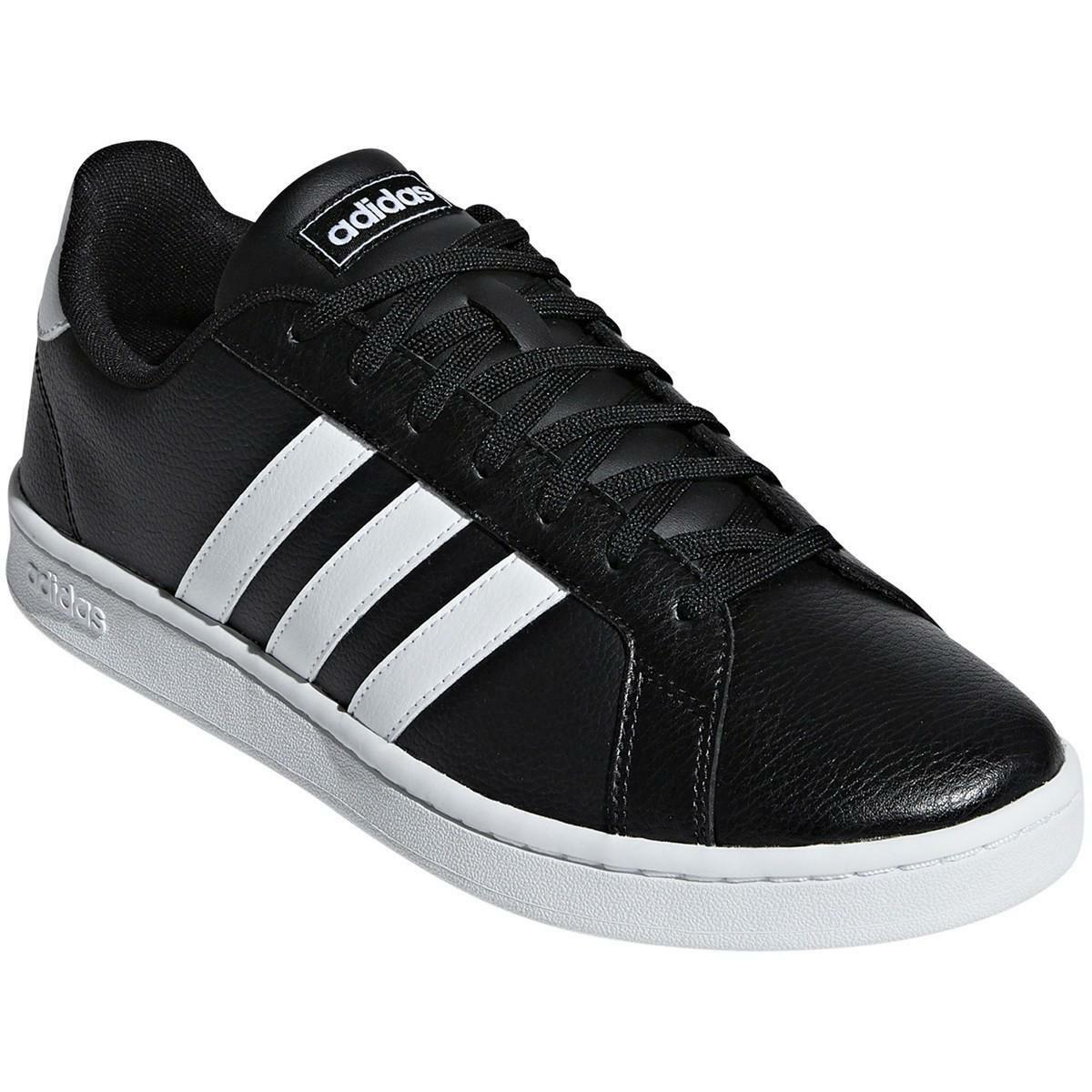 adidas adidas grand court uomo f36393 nero