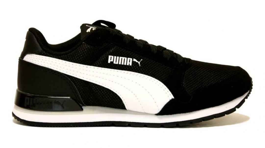 puma puma st runner v2 mesh jr 367135 006 nero