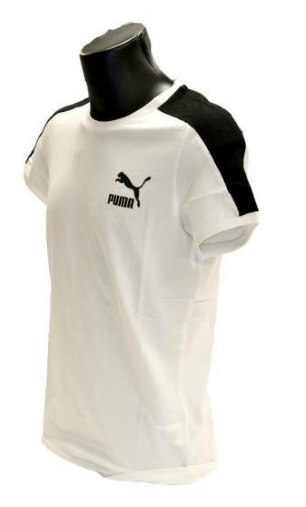puma puma t-shirt uomo 581558 002 bianco