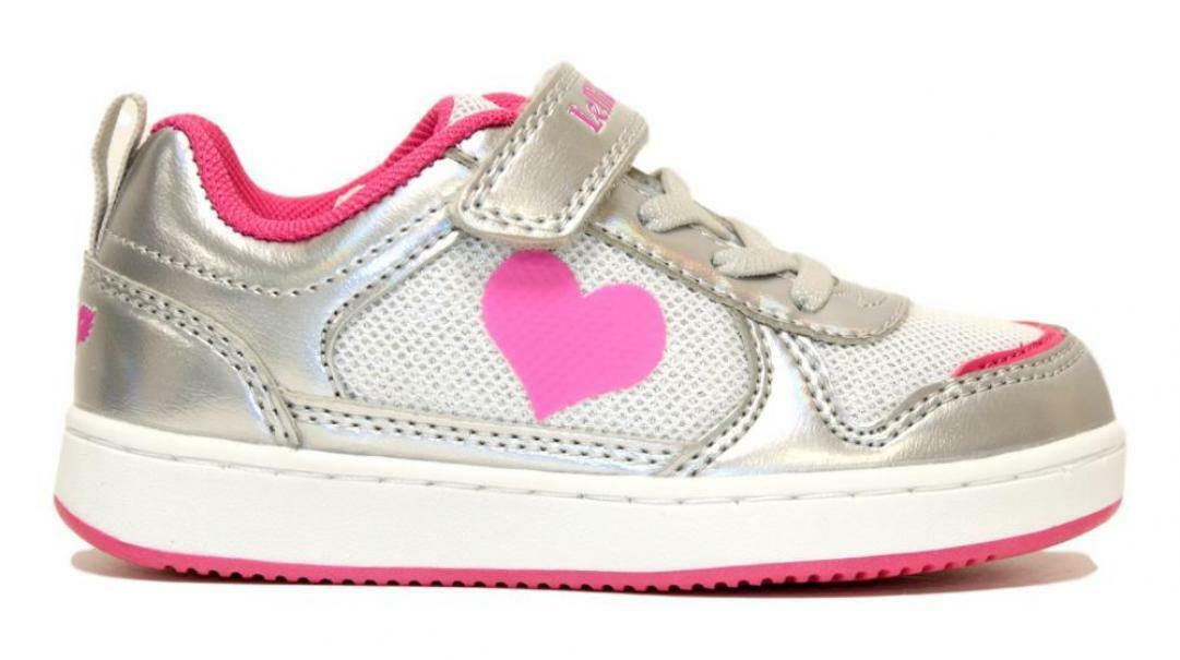 lelli kelly lelli kelly sneakers bambina lk1852 argento
