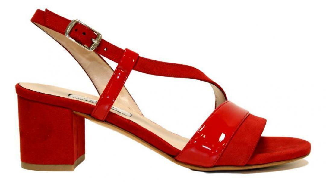 lamour lamour sandalo donna 244 rosso