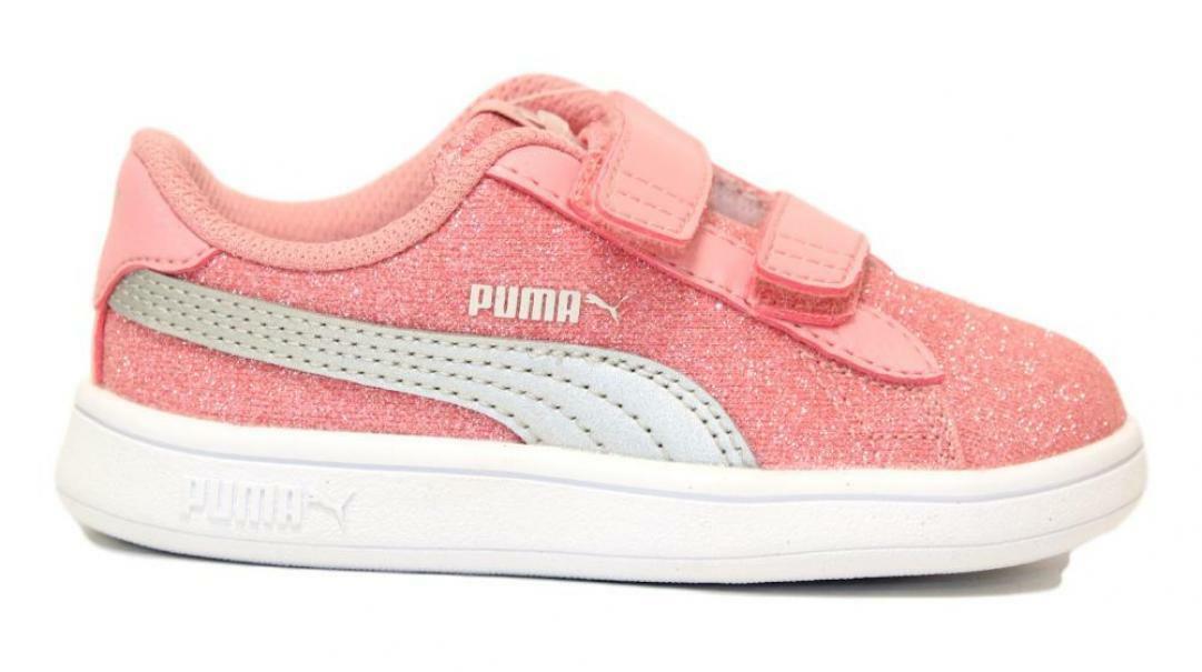 puma puma smash v2 glitz glam v inf 367380 015 rosa