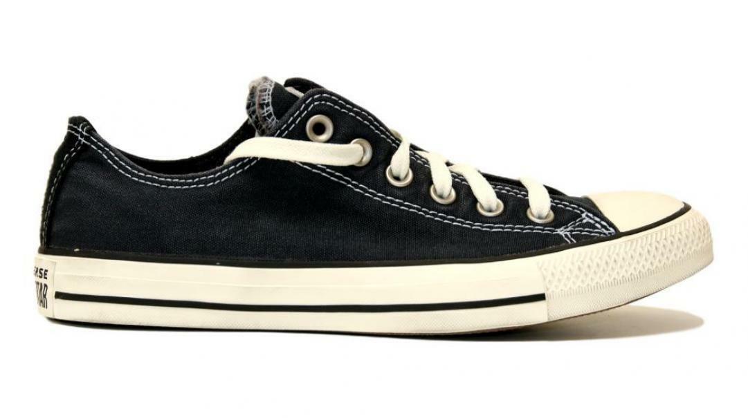 converse converse all star ox dark navy/egret/blac 167961c blu scuro