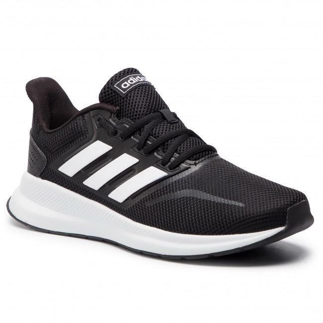 adidas adidas runfalcon unisex  cblackftwht f36218 nero