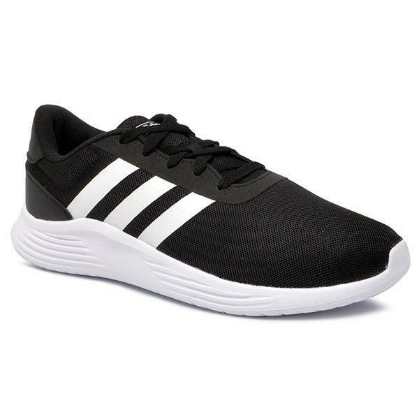 adidas adidas lite racer 2.0 cblack/ftwwht uomo eg3283 nero