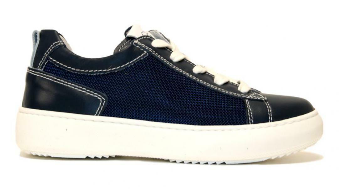 nero giardini nero giardini sneakers incanto e033771m 207 bambino blu