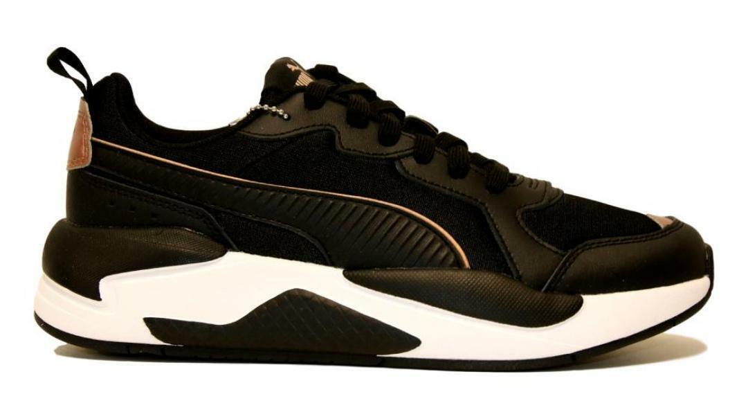 puma puma x-ray metallic donna 373072 001 nero scarpa sportiva