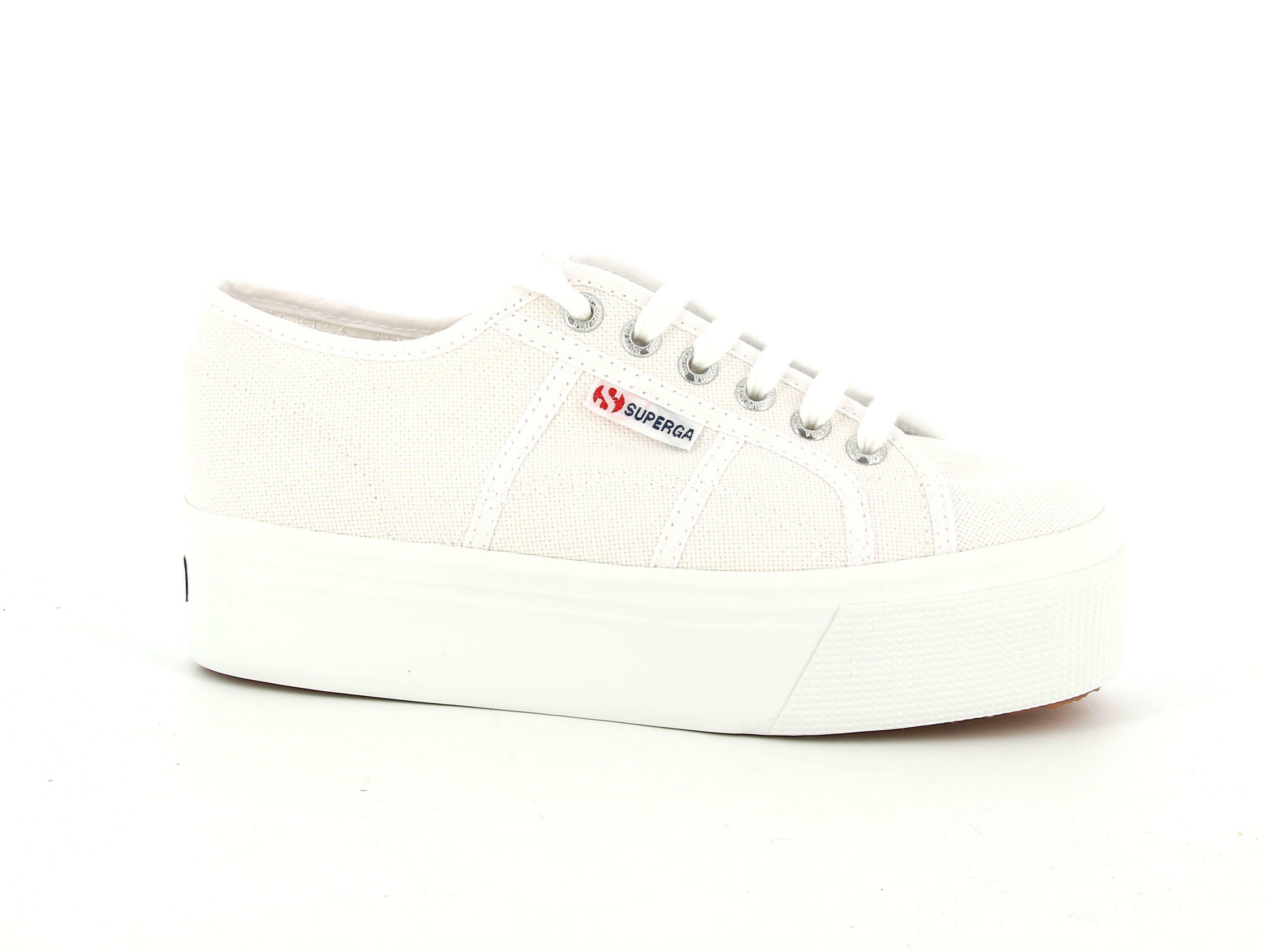 superga superga 2790 sneakers zeppa  bianco