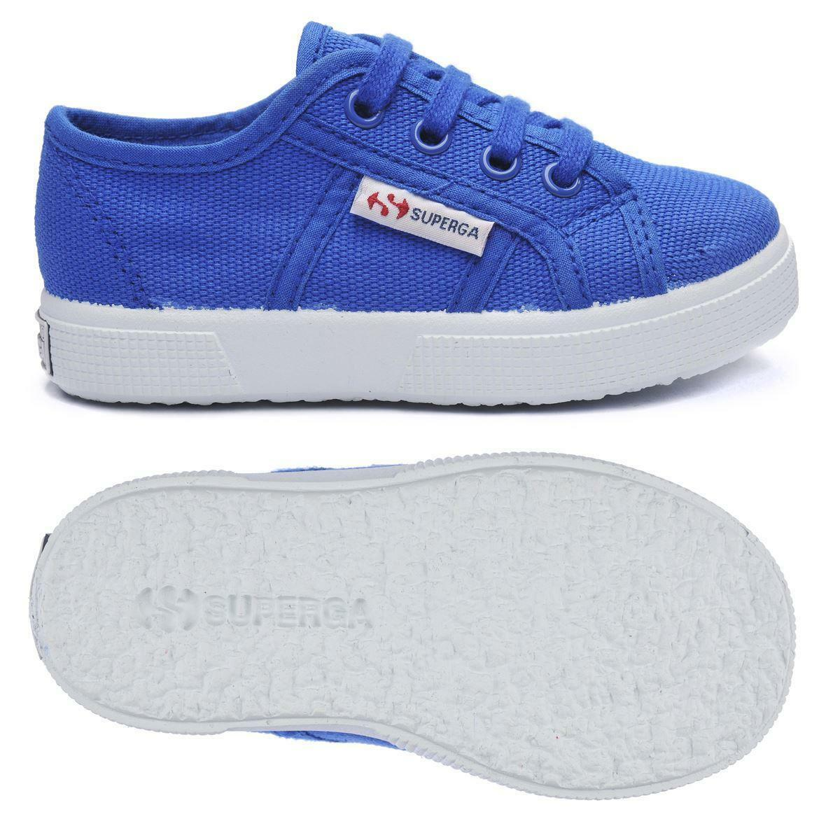 superga superga sneakers bambino 2750 torchietto blu