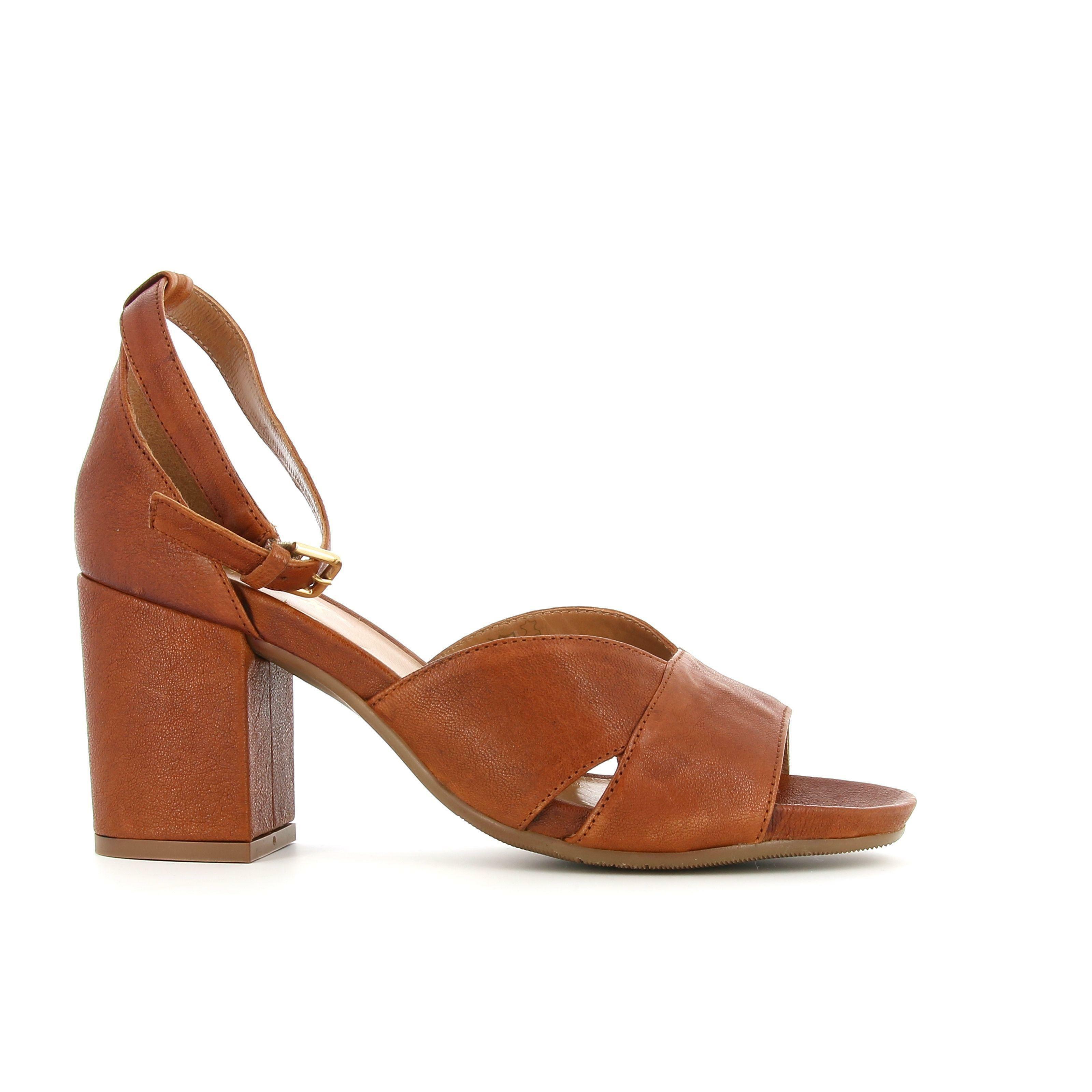 the flexx the flexx sandalo donna f7503 06 marrone sandalo tacco