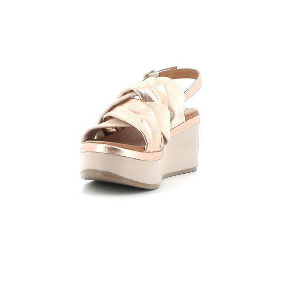 melluso melluso sandalo donna k55100 rosa sandalo zeppa